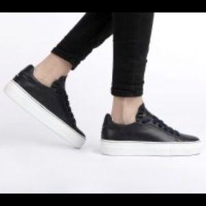 Jil Sander Low Platform Sneakers